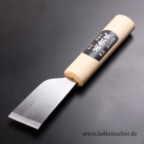 japanisches Schärfmesser gewinkelt - 36 mm Klingenbreite
