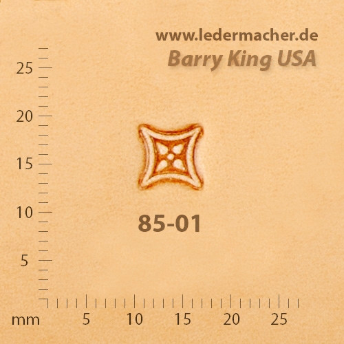 Barry King USA - Geometrics Boxstamp - Size 2