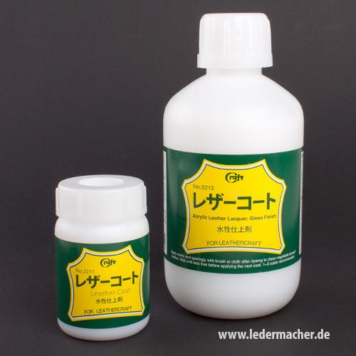 Craft Japan Premium Lederfinish - glänzend - 100 ml oder 500 ml