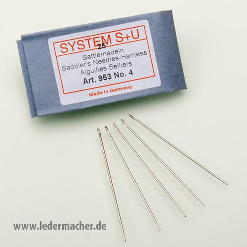 S+U Sattlernadeln - Nr. 4 - Nadelstärke: 0,90 mm
