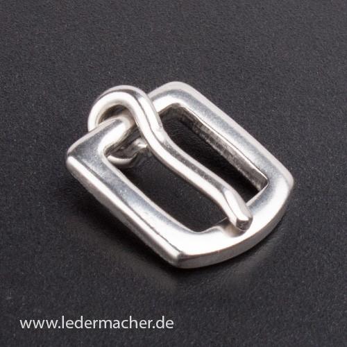 massive Edelstahl Schnalle - 10 mm