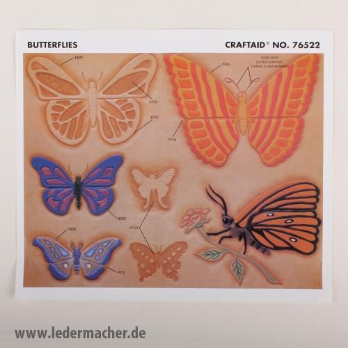 Craftaid Punzierschablone Butterflies