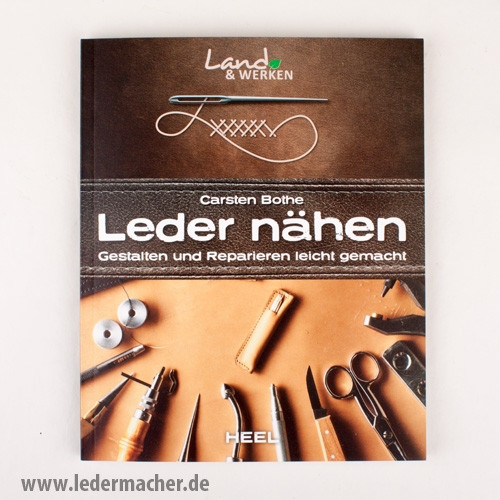 Leder nähen - Lederfachbuch - deutschsprachig