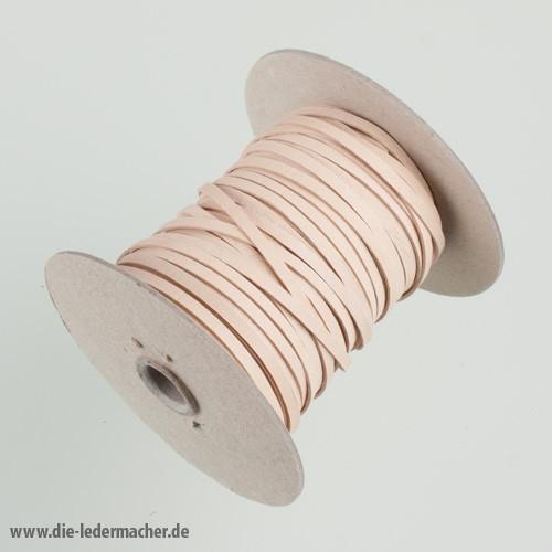 Känguru Flechtband, natur - Meterware, 3 mm