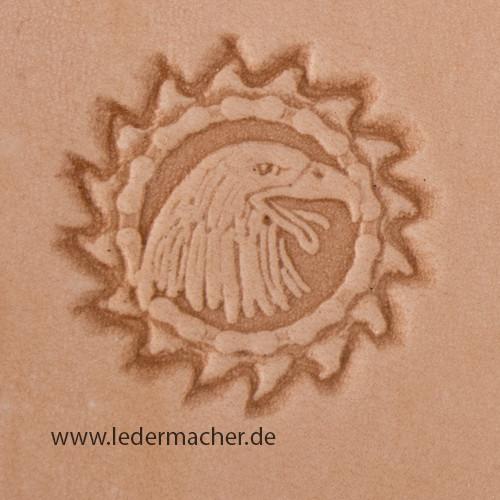 Stempelaufsatz Adlerkopf