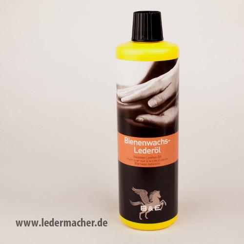 B&E Bienenwachs Lederöl - 500 ml