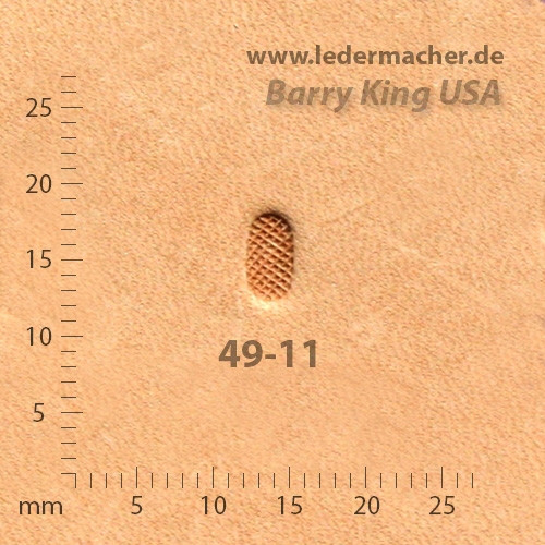 Barry King USA - Grounder oval - Size 1