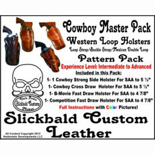 Slickbald Customs Pattern - Cowboy Master Holster Pack