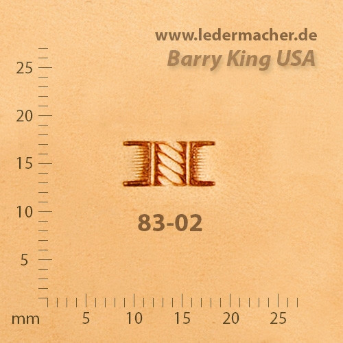 Barry King USA - Basket Stamp - Rope - Size 2