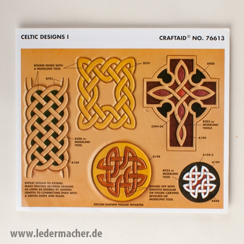 Craftaid Punzierschablone Celtic Designs I