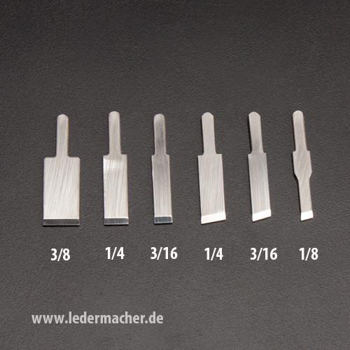 Klingen für Leather Wranglers SK3 - diverse Größen