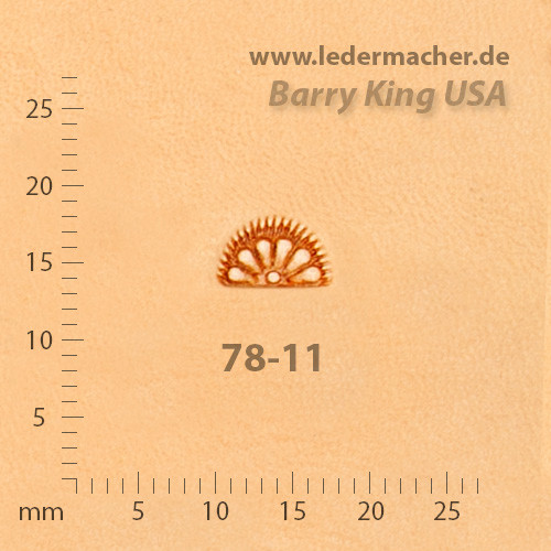 Barry King USA - Border Lined Petal - Size 1