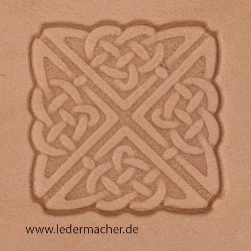 Stempelaufsatz Keltischer Knoten quadratisch
