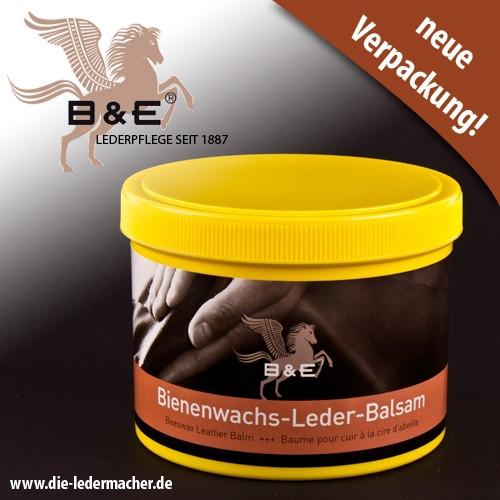 B&E Bienenwachs Lederbalsam, 500 ml