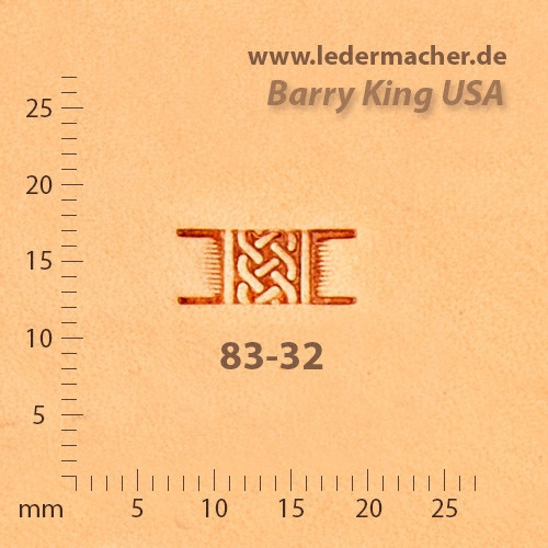 Barry King USA - Basket Stamp - Celtic - Size 2
