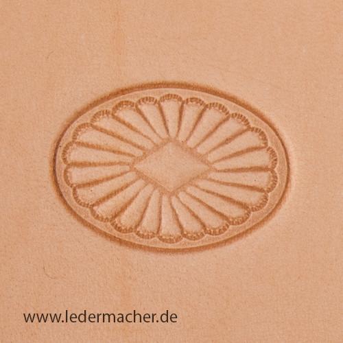 Stempelaufsatz Relief Oval