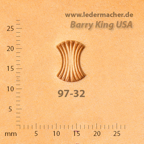 Barry King USA - Axe Head - Size 2