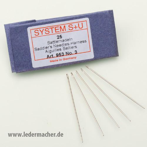 S+U Sattlernadeln - Nr. 3 - Nadelstärke: 0,90 mm