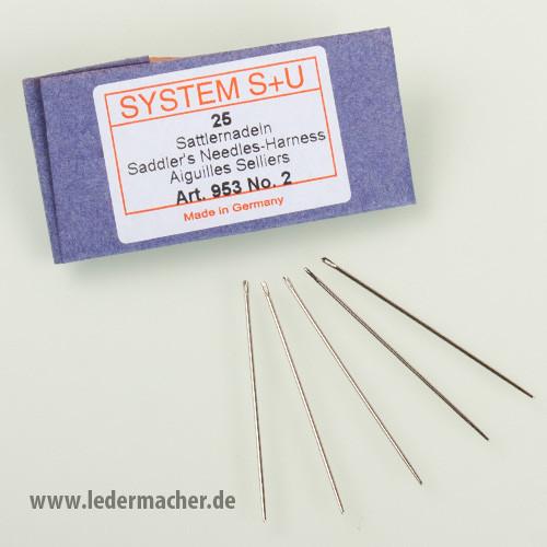 S+U Sattlernadeln - Nr. 2 - Nadelstärke: 1,1 mm