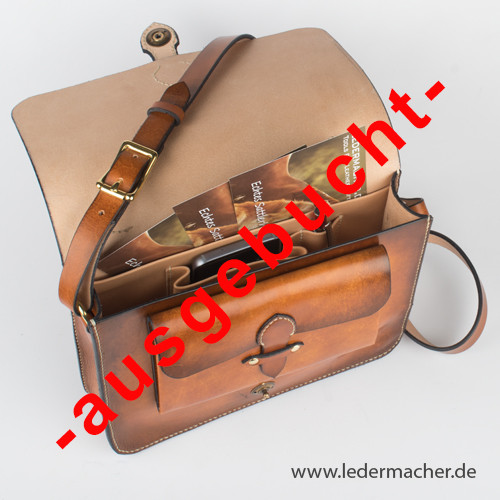 Leder-Workshop: kleine Aktentasche