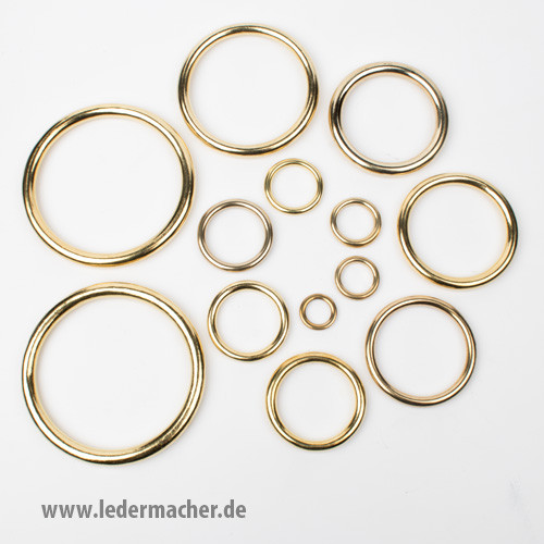 Vollmessing O-Ring