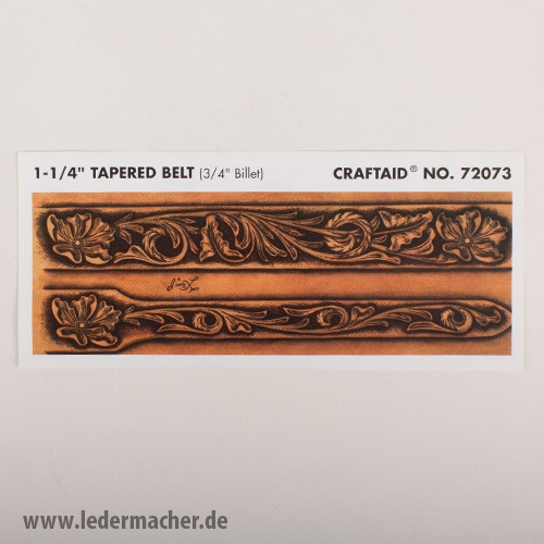 Craftaid Punzierschablone Tapered Belt