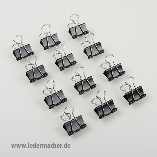 12 Leimklemmen / Vielzweckklammern - 19 mm
