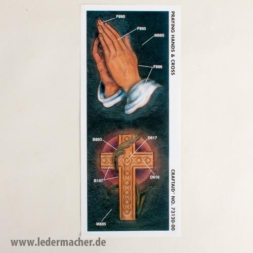 Craftaid Punzierschablone Praying Hands