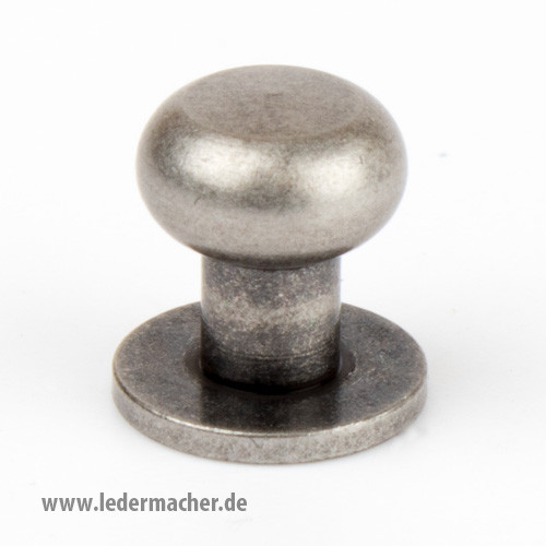 Kopfschraubniete 8 mm antiknickel