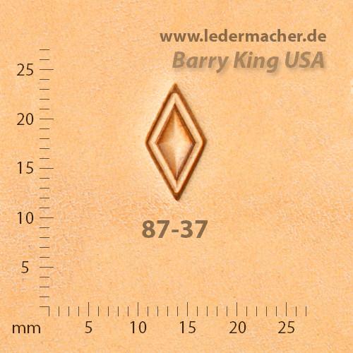 Barry King USA - Hollow Diamond - Size 2