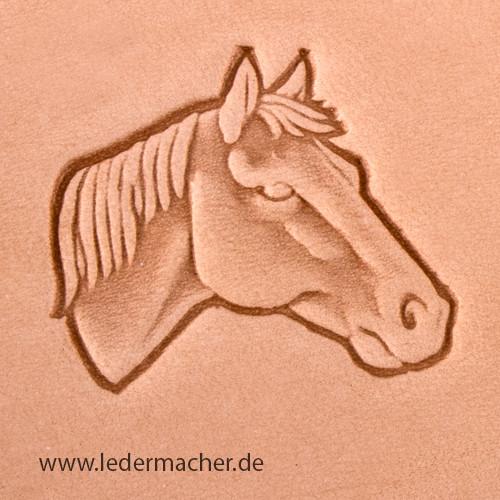 Stempelaufsatz Pferdekopf