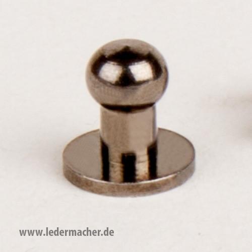 Kopfschraubniete 5 mm gunmetal