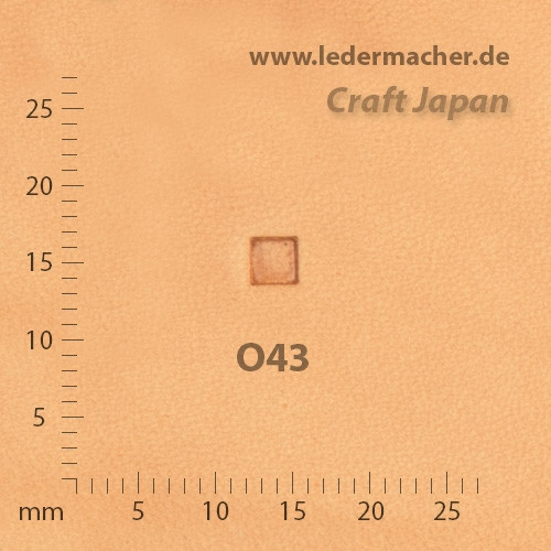 Craft Japan Punziereisen O43