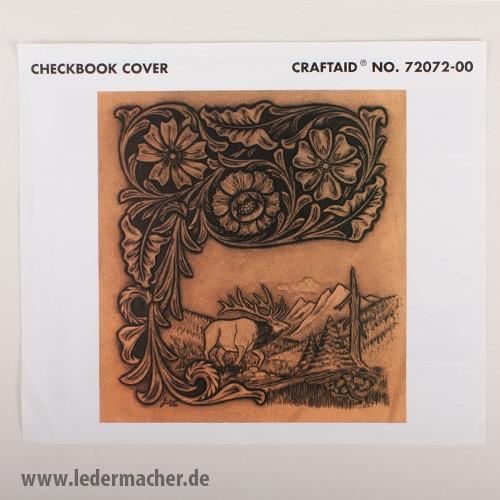 Craftaid Punzierschablone Checkbook Cover