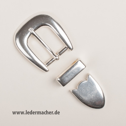 Smooth Buckle Set - 25 mm