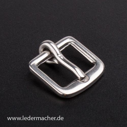 massive Edelstahl Schnalle - 12 mm