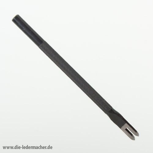 Schlageisen für Nahtlöcher - 2 Zähne - 2,0 mm