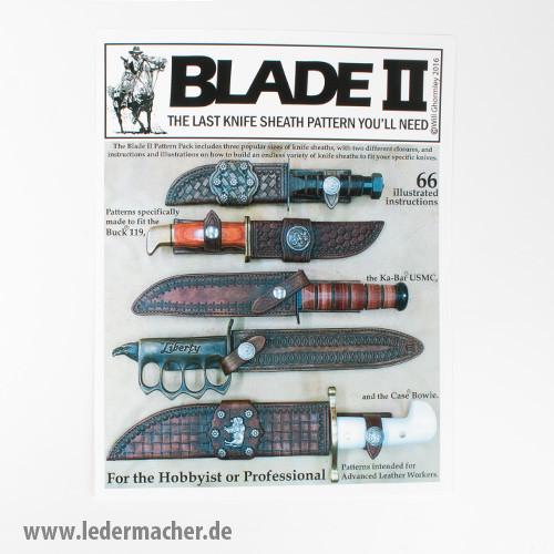 Blade II - Messerscheiden Schnittmuster