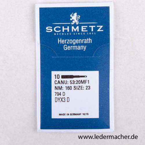 Schmetz System 794 - 160/23 - D Point