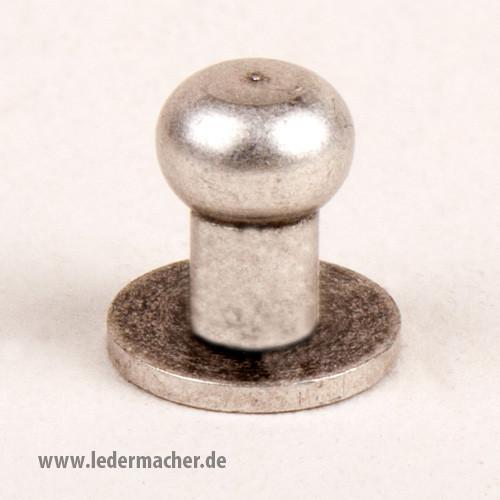 Kopfschraubniete 6 mm antiksilber