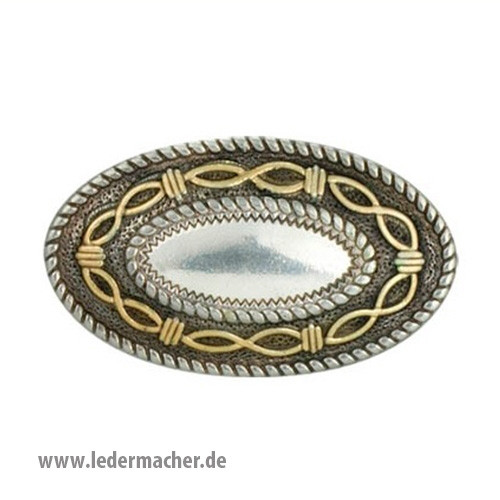Angelfire Concho oval - 38 x 22 mm