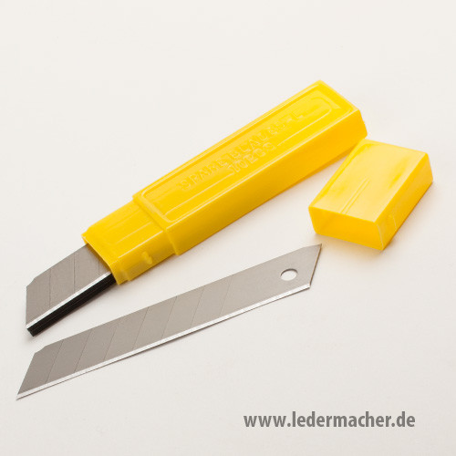 für Cuttermesser 18 mm - 10 Wechselklingen