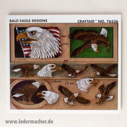 Craftaid Punzierschablone Eagle Designs