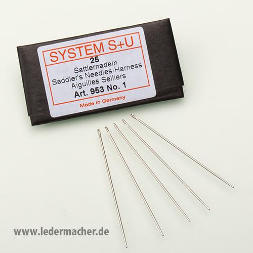 S+U Sattlernadeln - Nr. 1 - Nadelstärke: 1,1 mm