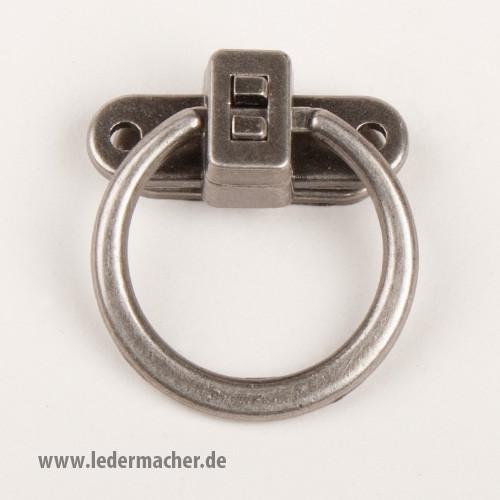 Ringverschluss - antiksilber