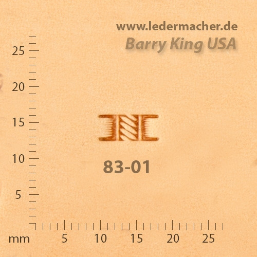 Barry King USA - Basket Stamp - Rope - Size 1