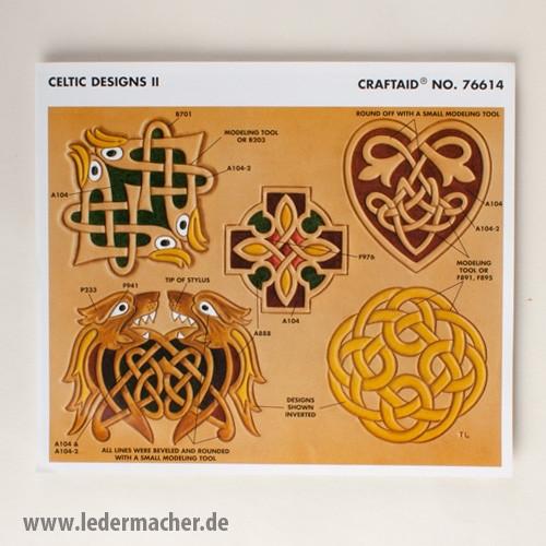 Craftaid Punzierschablone Celtic Designs II