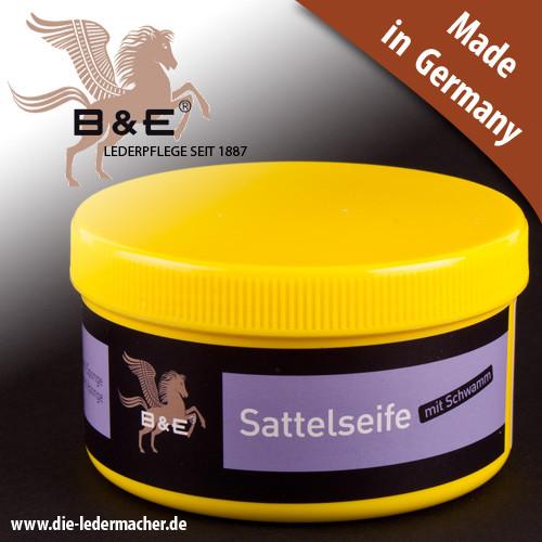 B&E Sattelseife mit Schwamm, 250 ml