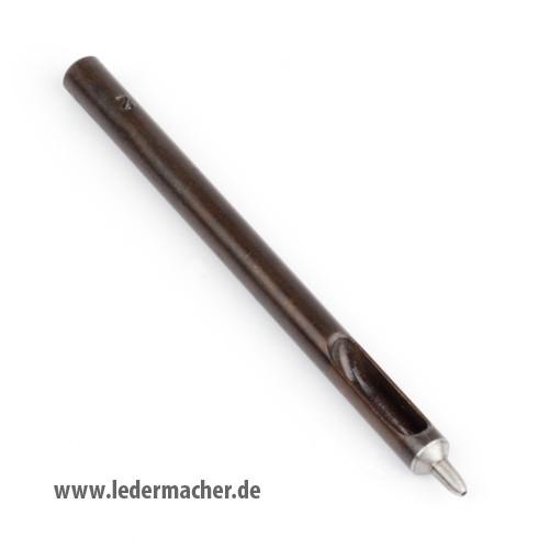 Locheisen / Schlageisen in Profiqualität - 0,6 mm (2)