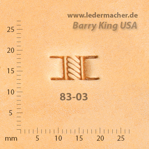 Barry King USA - Basket Stamp - Rope - Size 3